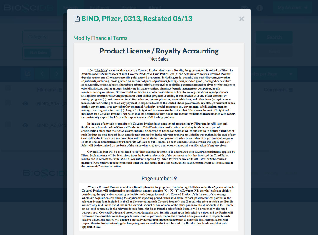 Identify Best Practices in Deal Drafting - BiosciDB